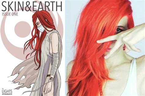 lights skin earth lights goes rogue in skin earth album