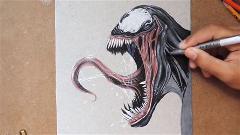 Drawing Venom by How To Draw Venom Www Pixshark Images Galleries