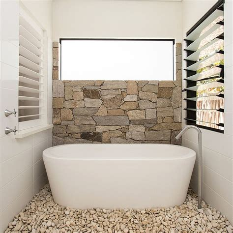 pebbles in bathroom 30 exquisite and inspired bathrooms with stone walls