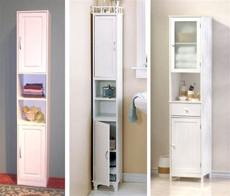 bathroom cabinet storage narrow bathroom storage