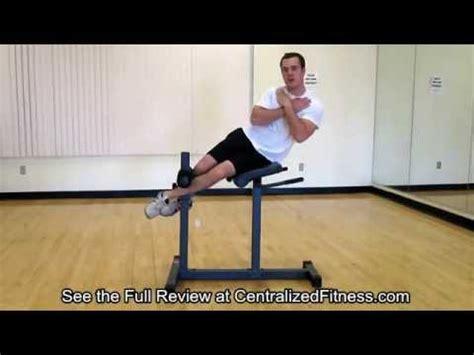 hyperextension bench vs roman chair powertec hyperextension review doovi