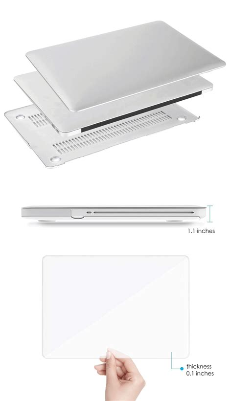 Matte For Macbook Macbook Pro With Cd Rom A1278 dayspirit ultra slim matte keyboard cover for