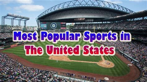 most popular sports in the united states