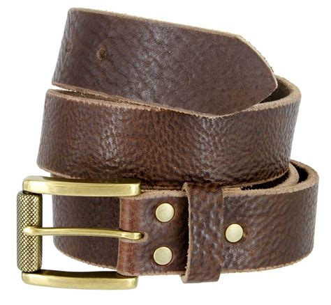alex jean grain leather belt 1 1 2 quot wide made in usa