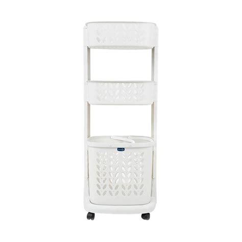 Keranjang Baju Kotor Laundry Basket Penyimpanan Portable jual rovega rlb 300 laundry basket 3 level keranjang