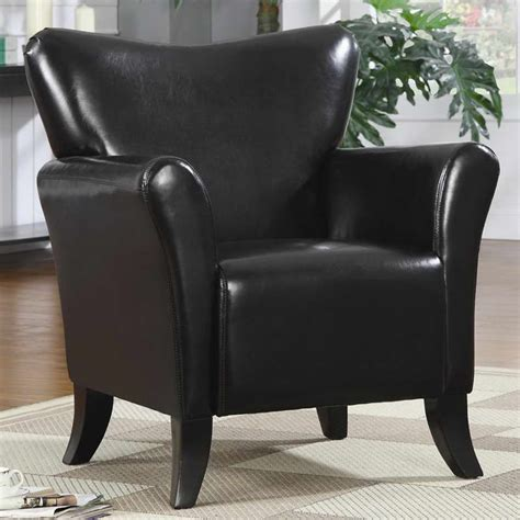 living room living room accent chairs with black color