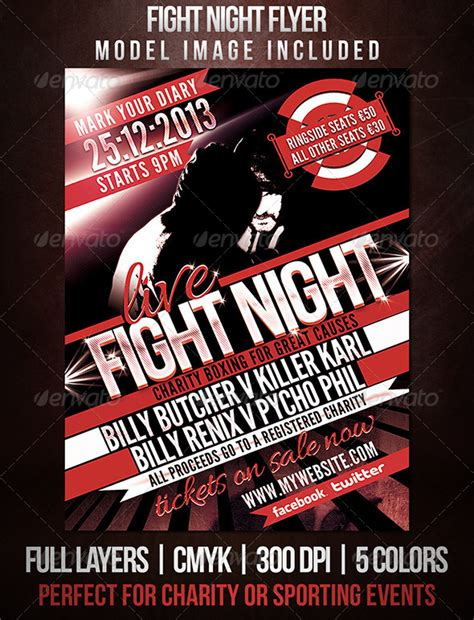 fight night sports flyer by dubsbhoy graphicriver