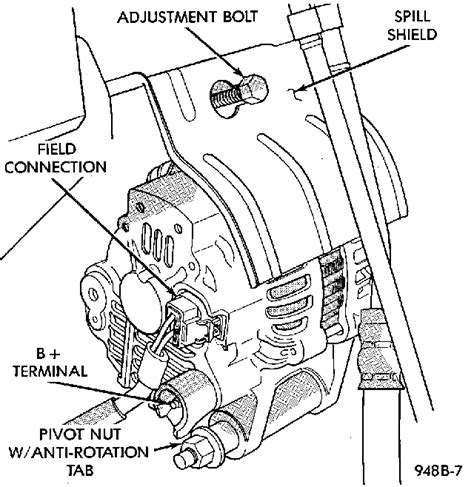 automotive alternator wiring diagram wiring diagram and