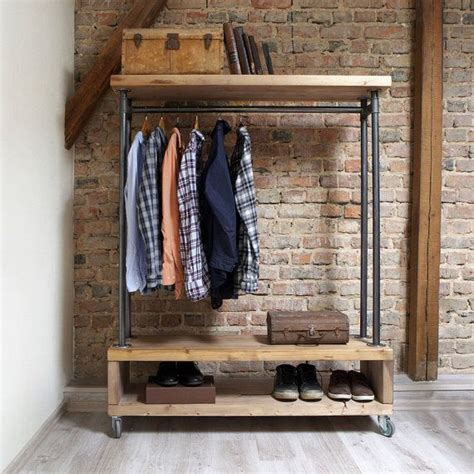 Hanging Clothes Storage the 25 best hanging clothes racks ideas on pinterest