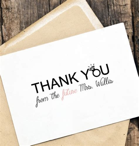 printable engagement thank you cards printable diy thank you card for weddings engagement