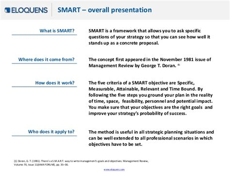smart objectives a method to set clear and relevant objectives