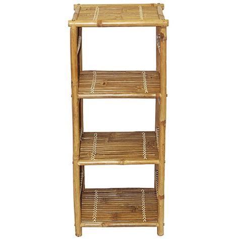 handmade bamboo bookcase free shipping today