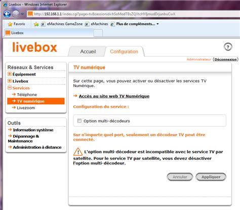 diodes livebox configurer une livebox 2 aidewindows net