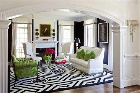 Modern Interior Design Living Room Black And White
