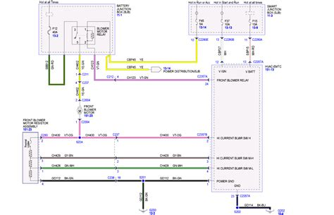 need wiring diagram for 2008 ford escape the heater keeps