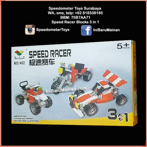Racer Rc Kapal Speed Boat Biru Mainan Anak Remote 60rb speed racer blocks 3 in 1 speedometer toys rc diecast mainan edukasi anak custom