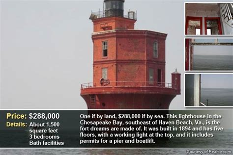 four lights houses 4 strange and unusual homes for sale bankrate com