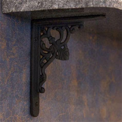 Rod Iron Shelf Brackets by Shelf Brackets