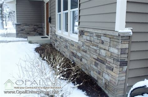 how to install rock siding for houses stone siding vinyl siding installation in naperville traditional exterior other metro