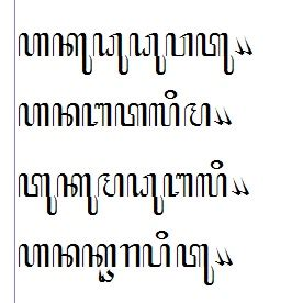 mengetik aksara jawa  fonts hanacaraka arsip