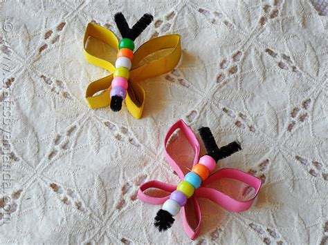 beaded butterfly craft butterfly craft from cardboard and