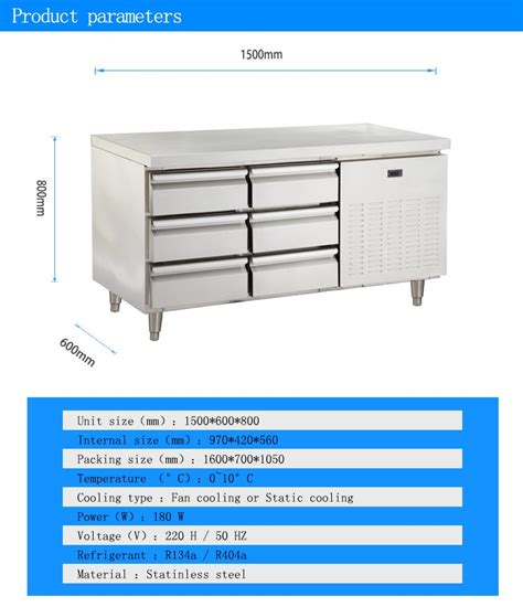 under bench fridge drawers diy drawer under counter refrigerator used stainless steel