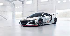 Acura Nsx New Acura Nsx Gt3 Rwd Races Into New York Auto Show