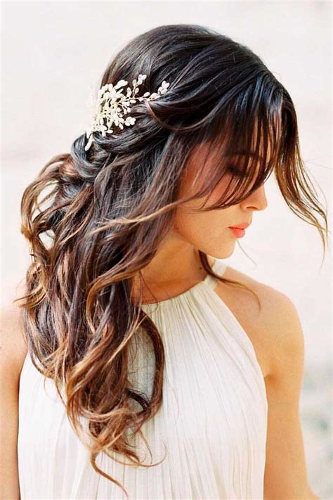 best 25 easy wedding hairstyles ideas on easy updo bridesmaid hair half up and