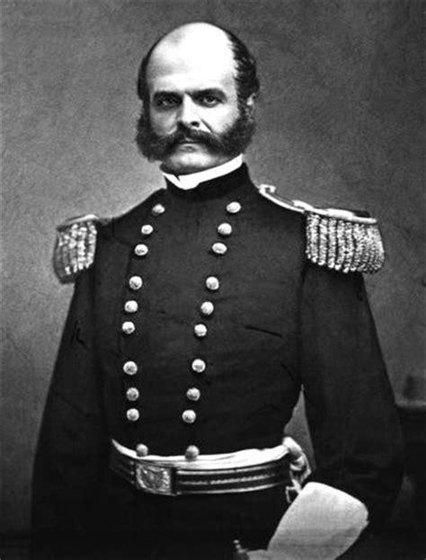 general hairstyles ambrose burnside civil war academy american civil war