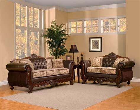 traditional sofa set 2 piece traditional elegant sofa set