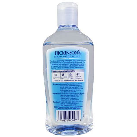 Witch Hazel Detox Bath by Dickinson Brands Enhanced Witch Hazel Cleansing