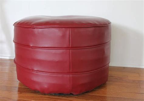 round red leather ottoman 1000 ideas about ottoman stool on pinterest ottomans