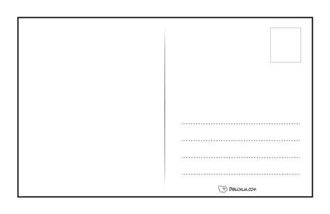 Plantilla de Postal 01 ? Dibujalia Blog