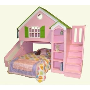 bunk bed house dollhouse bunk beds foter