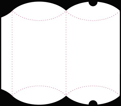 pillow boxes template pillow box other boxes free studio files and more