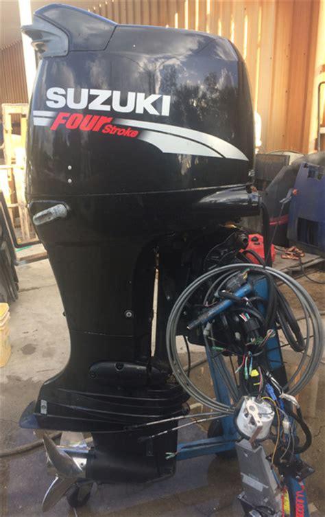 Used Suzuki 140 Outboard For Sale Suzuki 140 Hp 4 Stroke Outboard Boat Motor For Sale