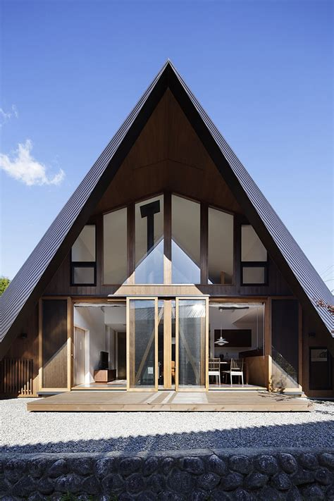 creative origami house  japan combines  distinct