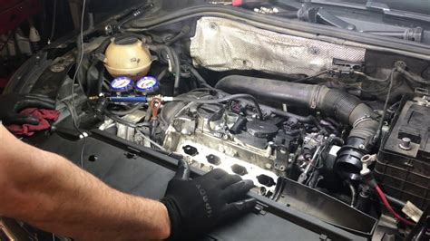 how do cars engines work 2009 volkswagen tiguan parking system 2009 vw tiguan 2 0 turbo misfire cylinder 1problem youtube