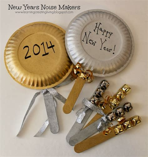 new year crafts for preschoolers 2015 learning creating living new years noise makers