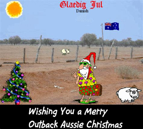 merry outback aussie christmas  summer ecards greeting cards