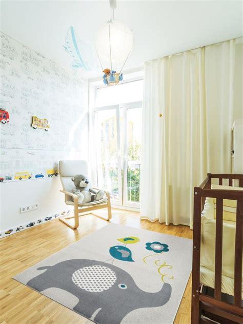 kinderzimmer teppich benuta kinderteppich elefant blau haus deko ideen