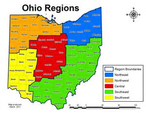 Map Of Southwest Ohio by Biop 2 The The University Of Akron
