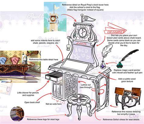 disney s sofia the desk on behance