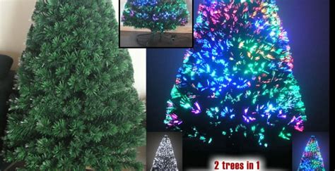 3 ft fiber optic xmas tree fiber optic trees