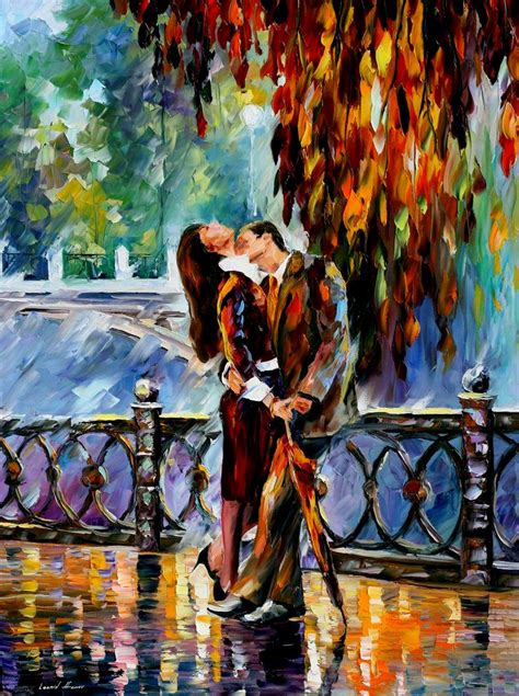 all artist leonid afremov 1955 the impressionist lovers tutt art