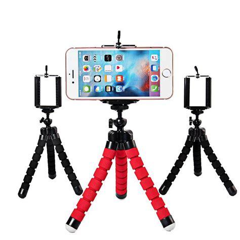 Mini Tripod Plus Holder U T1910 2017 universal octopus sponge mini tripod digital holder mount clip for canon
