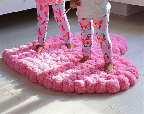 tappeto grande per bambini grande pom pom tappeto grande tappeto tappeto rosa cuore