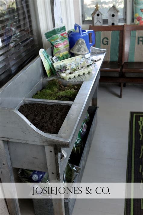 stainless steel potting bench 17 best images about potting places and benches on