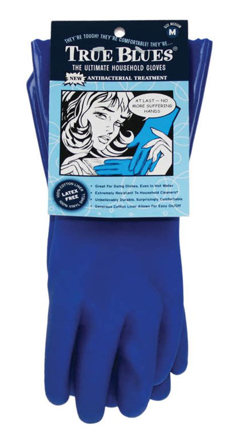 ultimate cleaning gloves blue large for the kitchen