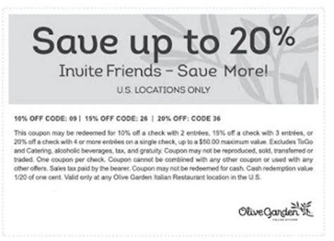 olive garden coupons usa 2015 olive garden coupon code august 2015